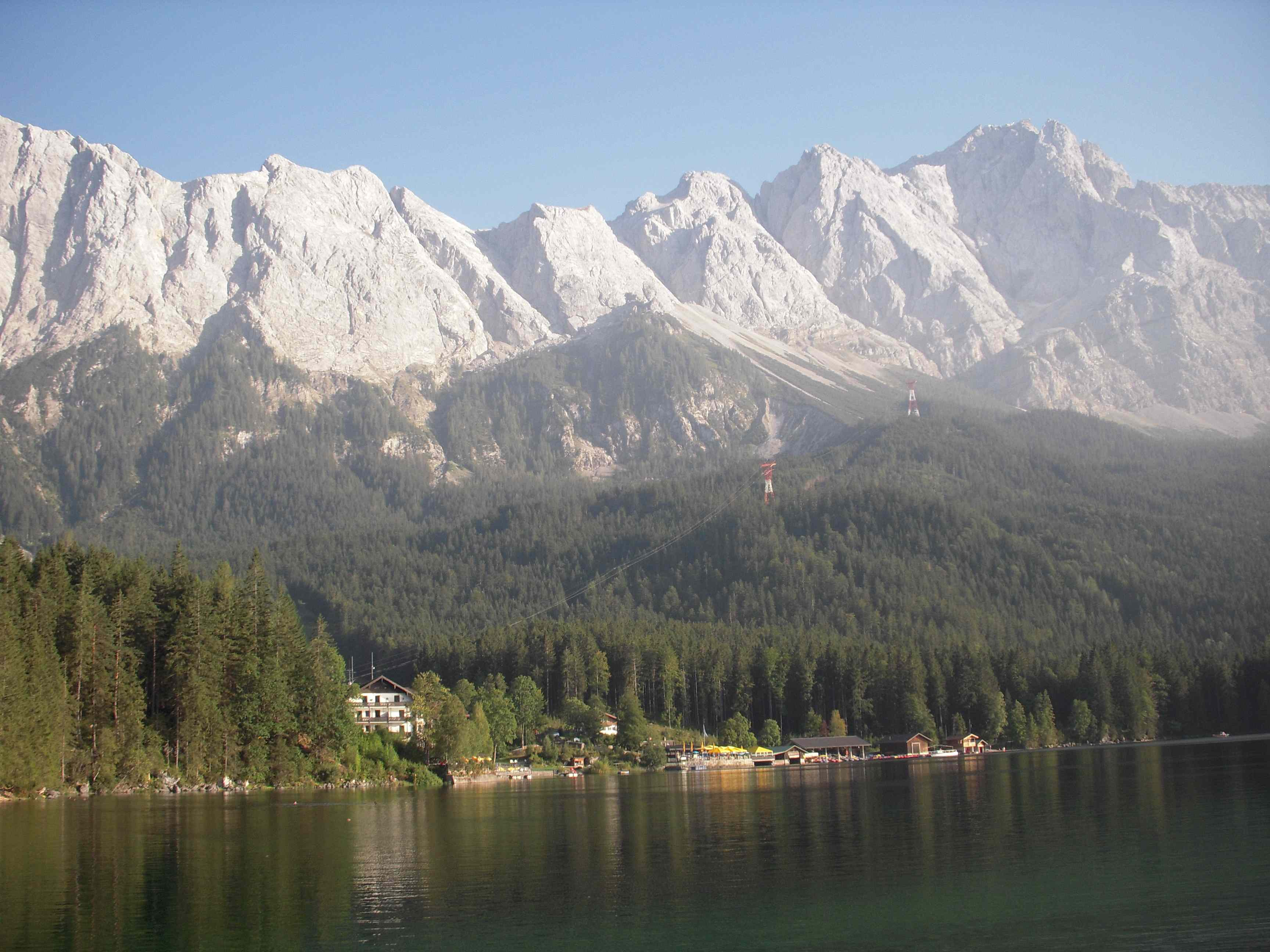 Eibsee for Designhotel garmisch
